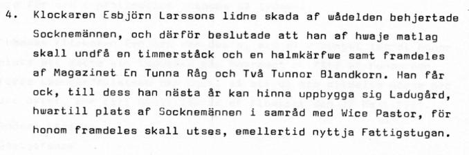 Nedtecknat av Alf Brage