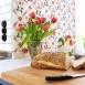 Lidhults kök Frillen handmålat grå och blå 6