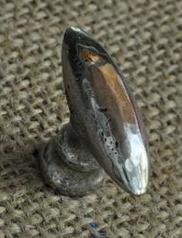 Köksknopp Giara brittanium brons