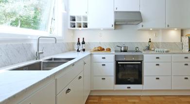 Lidhults kök modell Frillen Sotgrå