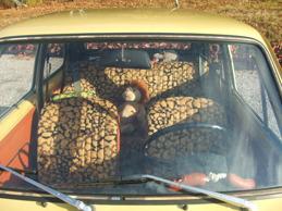 Fiat 126 Inredning