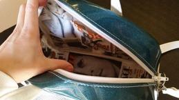Rockabilly väska (insida)