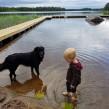 Äventyrsgrupp för barn och hund