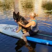 SUP med hund - Kurs