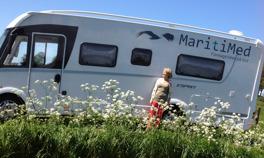 MaritiMed är en mobil företagshälsovård som erbjuder företag i Halland & Västra Götaland hälsoundersökningar & hälsoutbildningar