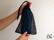 Lätt smidig duschstrumpa i nätpåse
