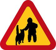 Barn & katt