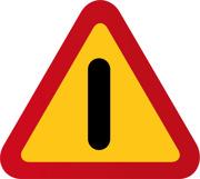 A40 Varning för annan fara