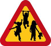 Tre barn - flickor & pojkar