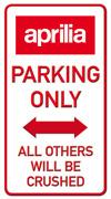 Parking only Aprilia