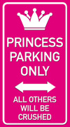 Parking only Princess