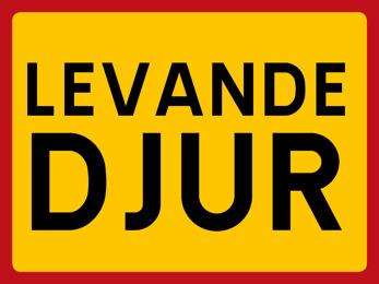 Dekal LEVANDE DJUR - Dekal 400x300 mm