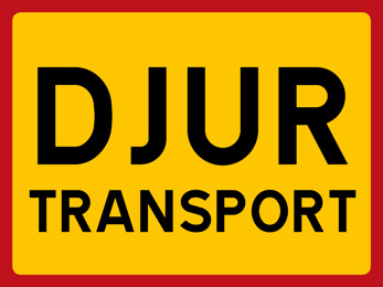 Dekal DJURTRANSPORT
