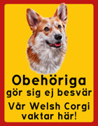 Obehöriga göre sig ej besvär - Welsh Corgi