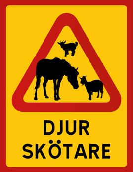 DJURSKÖTARE (getter och hästar)