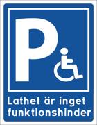 Parkering Handikapp är inget funktionshinder