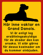 Innan du går in - Grand Danois