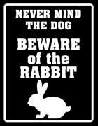 Never mind the dog, beware of the rabbit