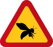 Varning för bi 2