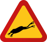 Groda hoppar