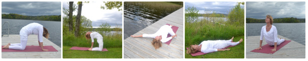 Anette på Muskelvården i Halmstad erbjuder  kundaliniyoga och yinyoga