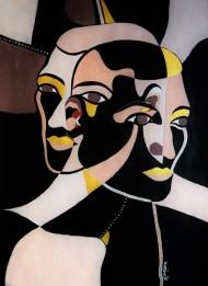 Målning av Kimelina Lorentzson
