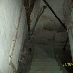 Rörisoleringen som innehåller asbest har sanerats. Alla lösa föremål plockas innan sanering bort från området. Efter att isoleringen är borttagen under garanterat säkra former, dammsugs hela området m