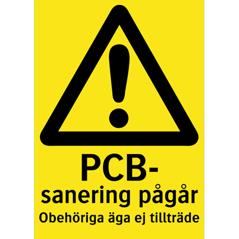 Rivad AB vi utför PCB-sanering