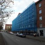 Fogfräsning tegelfog i Malmö. Cirka 2000 kvadratmeter