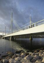 Munksjöbron Jönköping Infrastrukturfotografering åt Ruukki