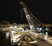 Nya bron Ruukki Stadshusbro Stockholm 185