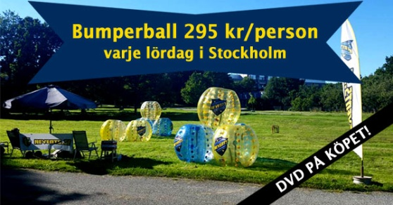 Revents bumperball sommarkampanj 295 kronor per person.