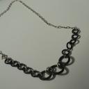 Halsband Silver gummi600kr
