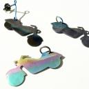 Titan mototcyklar till örhängen el.hals-smycke 350ks/st
