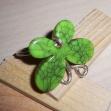 silverring grön fjäril 200kr
