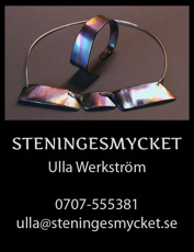 Titanarmband Halmstad, Halland – handtillverkade & unika armband i titan designade av smyckeskonstnär Ulla Werkström på Steningesmycket mellan Halmstad & Falkenberg