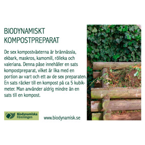 Kompostpreparat - Kompostpreparat medlem