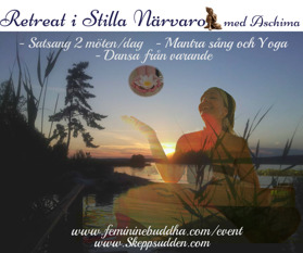 Awakening to Peace- A retreat with Aschima. By pressing the image - go to events page