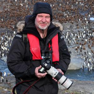 Thomas på Antarktis