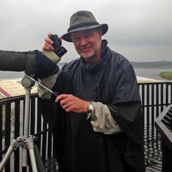 Andfågelräkning i Finjasjön