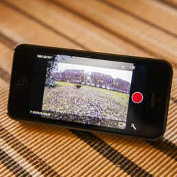 Fjärrkontrolleras med iPhone