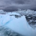 Antarktis 2012 Isberg i issörja