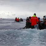 Antarktis 2012 Zodiak i issörja IV