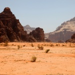 JORDANIEN 2014 Wadi rum öknen
