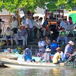 MEXICO 2013 Folk vid floddeltat