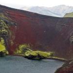 Island vulkankrater