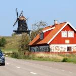 Mölle 2014 Kvarn, hus och bil
