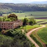 ITALIEN Monteriggioni Landskap