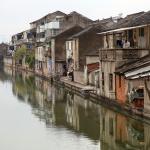 Kanalstäder vid Shanghai