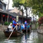 En kanalstad i Kina